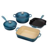 Le Creuset® Signature 6-Piece Cookware Set in Marine