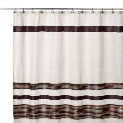 brown and white shower curtain. Dresden 70 Inch W x 72 L Fabric Shower Curtain Buy Brown Curtains from Bed Bath  Beyond