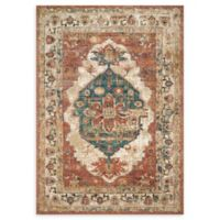 Magnolia Home by Joanna Gaines Evie 5'1 x 7'8 Area Rug in Spice/Multi
