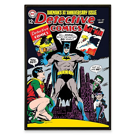 Dc Comics Wall Art batman dc comic book wall art - bed bath & beyond