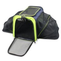 Pet Life™ Roomeo Collapsible Airline Approved Pet Carrier