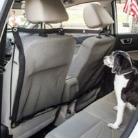 Pet Life Car Pet Rectangular Safety Net in Black