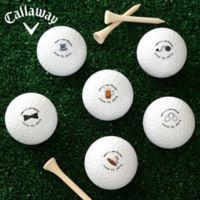 Callaway® Groom's Last Round Golf Balls (Set of 12)