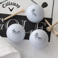 Callaway® Wedding Party Golf Balls (Set of 3)