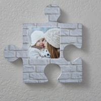 Photo 12-Inch Square Puzzle Piece Wall Décor