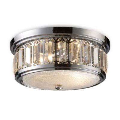Bathroom Lighting Flush Mount buy chrome lighting fixtures from bed bath & beyond