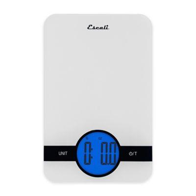 Escali® Ciro Digital Food Scale in White
