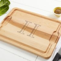 Chef's Monogram 12-Inch x 17-Inch Maple Cutting Board