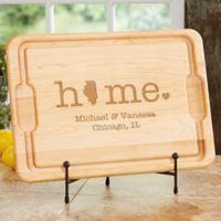 Home State 15-Inch x 17-Inch Maple Cutting Board