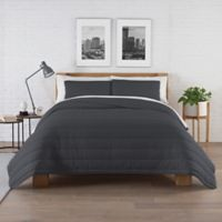 Pure Beech® Jersey Full/Queen Comforter Set in Charcoal Grey