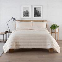 Pure Beech® Jersey Twin/Twin XL Comforter Set in Heather Oatmeal