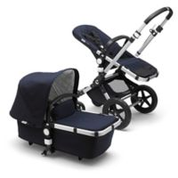 Bugaboo Cameleon3 Plus Classic Collection Complete Stroller in Aluminum/Dark Navy