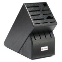 Wusthof® 15-Slot Knife Block Storage in Black