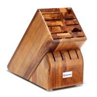 Wusthof® 15-Slot Knife Block Storage in Acacia