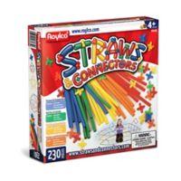 Roylco Straws & Connectors - 230-Piece Building Set