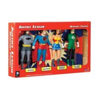 Toysmith Justice League Bendable Figures Boxed Set