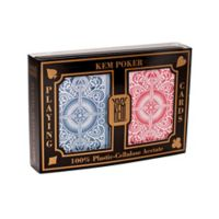 US Playing Card Company KEM Arrow Red and Blue Wide Playing Cards