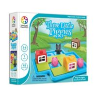SmartGames Three Little Piggies Deluxe Brain Teaser Puzzle