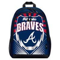 """The Northwest MLB Atlanta Braves """"Lightning"""" Backpack"""