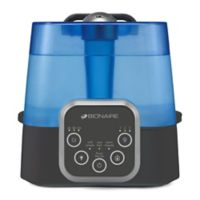 Bionaire® Warm/Cool Mist Humidifier in Blue/Black