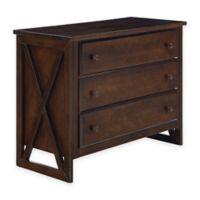 BassettBaby® Premier Tate 3-Drawer Dresser in Mocha