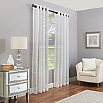 Madeira 84-Inch Grommet Sheer Window Curtain Panel in Pearl