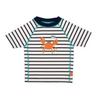 Lassig Size 6M Sailor Short Sleeve Rashguard in Blue
