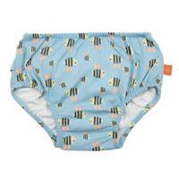 Lassig Size 6M Bumble Bee Swim Diaper in Blue
