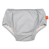 Lassig Size 6M Submarine Swim Diaper in Grey