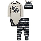 Gerber® Size 0-3M 3-Piece Moose Playette Set