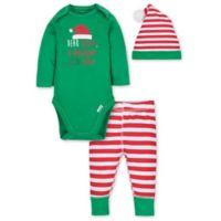 Gerber® Size 12M 3-Piece Santa Playette Set