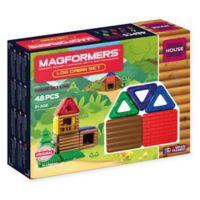 Magformers® 48-Piece Log Cabin Playset