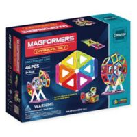 Magformers® 46-Piece Magnetic Carnival Set in Multi