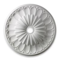 ELK Lighting Melon Reed 32-Inch Medallion in White Finish