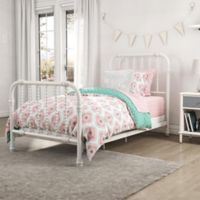 Little Seeds Cora Reversible Twin Comforter Set in Coral