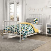 Little Seeds Jax Reversible Twin Comforter Set in Teal/Grey