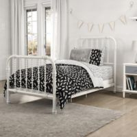 Little Seeds Feather Print Twin Comforter Set in Black