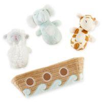 Baby Aspen 4-Piece Noah's Ark Rattle Gift Set