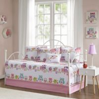 Mi Zone Kids Wise Wendy 6-Piece Daybed Set in Pink