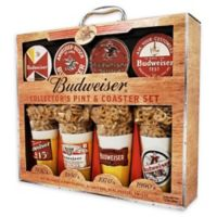 Budweiser® Collector's Pint and Coaster Set