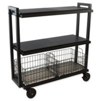 Urb SPACE Transformable 3-Tier Cart System in Black