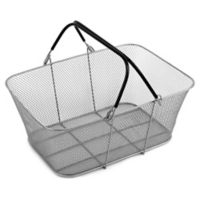 ShopCrate Mesh Basket in Silver