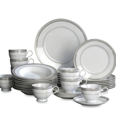 Mikasa® Platinum Crown 40-Piece Dinnerware Set (Service for 8)  sc 1 st  Bed Bath u0026 Beyond & Buy Formal Dinnerware Sets for 8 from Bed Bath u0026 Beyond
