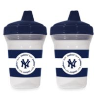 Baby Fanatic® MLB® Sippy Cup 2-Pack in New York Yankees