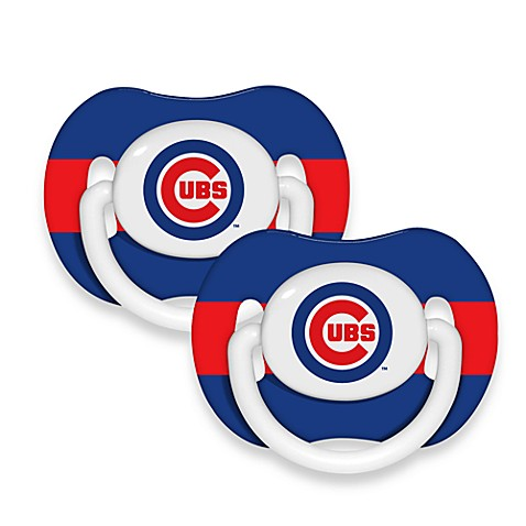 Chicago Cubs MLB® Baby Fanatic® 2-Pack Pacifier