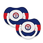 Baby Fanatic® MLB® Pacifier 2-Pack in Texas Rangers