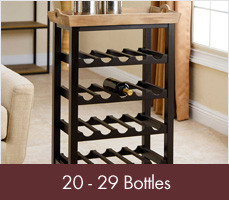 Wine Racks for 20 - 29 Bottles