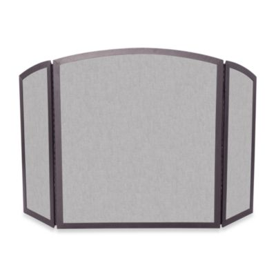 UniFlame® 3-Fold Fireplace Screen with Continuous Arch in Bronze  Finish/Wrought Iron - Buy Bronze Fireplace Screen From Bed Bath & Beyond