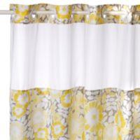 Fan Floral Hookless Shower Curtain