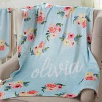 Floral Baby Fleece Baby Blanket